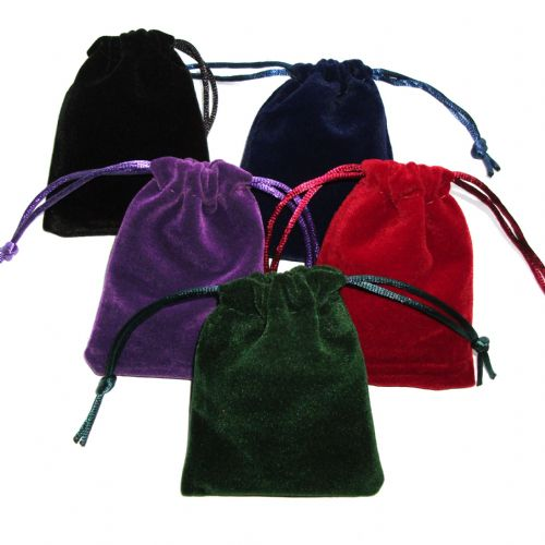 Velvet Keepers Pouch